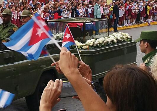 Suzanne feltbilde på Cuba