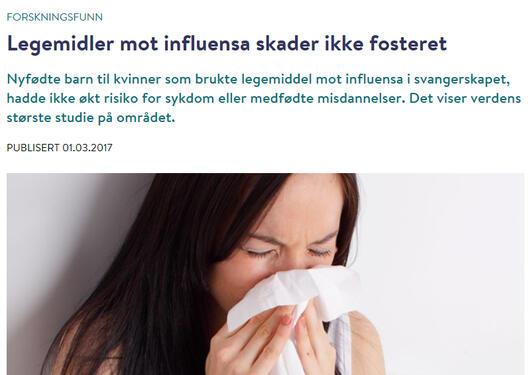 FHI - influensa studie