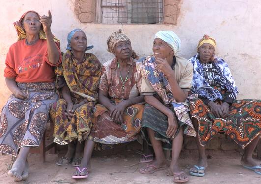 Ex-circumcisers, Ikungi Village, Tanzania
