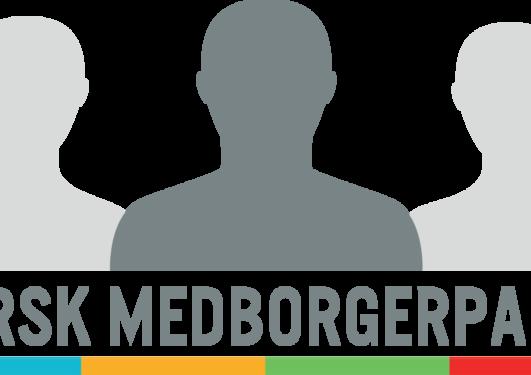 Logo for norsk medborgerpanel