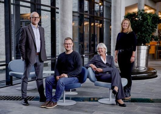 Sveinung Hole,  Gerd Kvale, Bjarne Hansen og Inger Elise Iversen