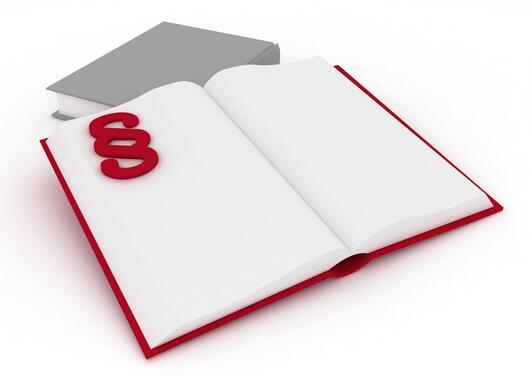 Bok med paragraftegn