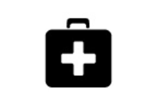 Ikonet viser en førstehjelpskoffert