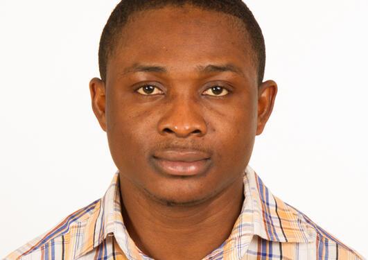 Master student Herbert Tetteh.