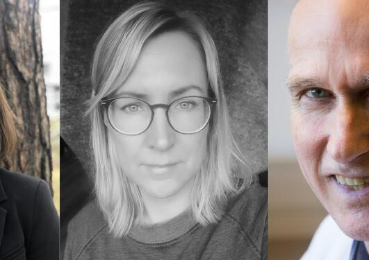 Marte Bjørk, Henriette Aksnes og Nils Erik Gilhus
