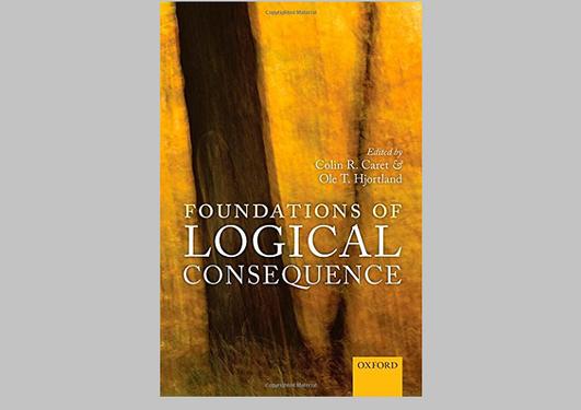 """Bilde av forsiden på boken """"Foundations of Logical Consequence"""""""