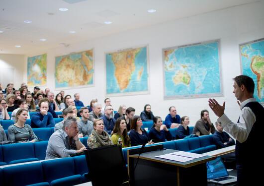 Faglig-pedagogisk dag ved UiB