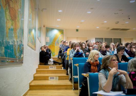 Inspirerte lærere på Faglig-pedagogisk dag 2017