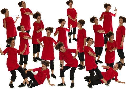 Mange identiske kloner av Fråtse-Frida