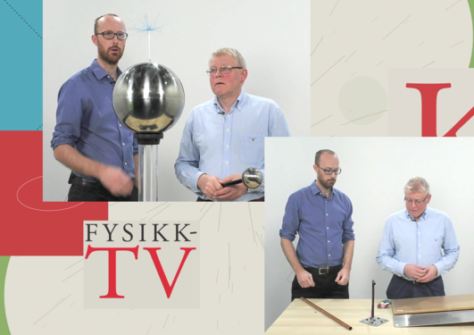 Prof. Martin Fernø og Førsteamanuensis Kjartan Olafsson