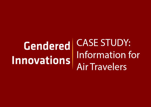 Information for Air Travelers: Participatory Research and Design