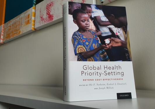Book cover Global Health Priority-Setting