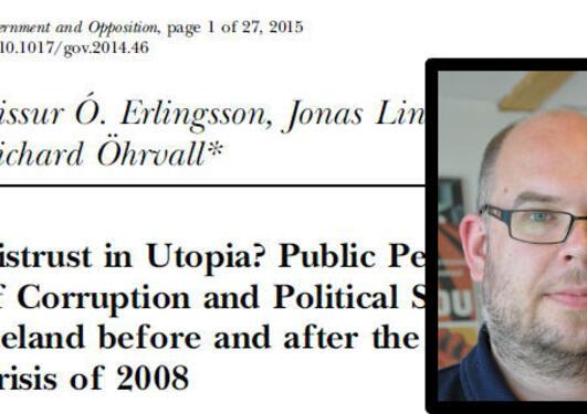Ny artikkel av Jonas Linde
