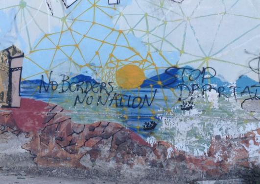 Grafitti, Lesvos