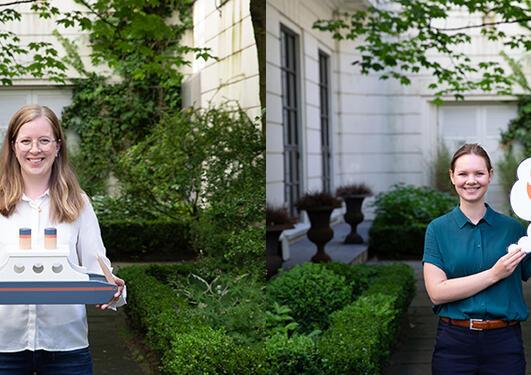 Agnete Hessevik og Thea Gregersen