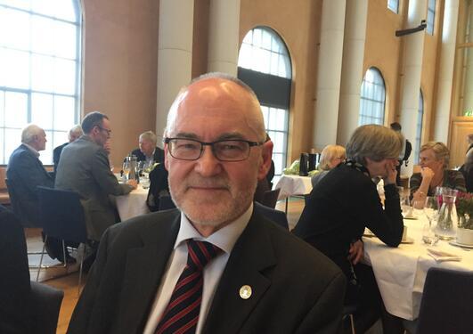Sigmund Grønmo feirer 70 år i Universitetsaulaen