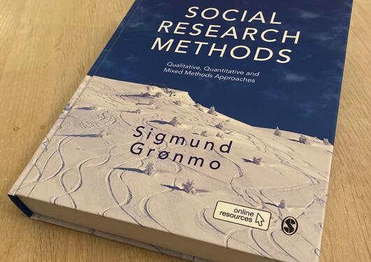 Bilde av boka: Social Research Methods, Sigmund Grønmo