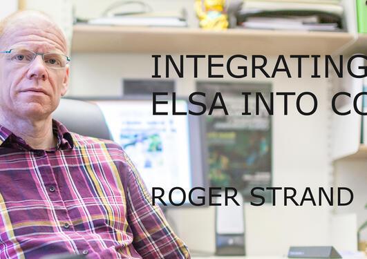 Portrait of Roger Strand.