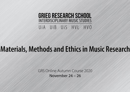 GRS Autumn Course 2020