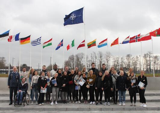 Gruppebilde NATO
