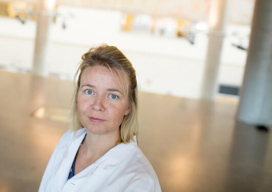 Portrait of Researcher Oddrun Anita Gudbrandsen, Department of Clinical Medicine, Faculty of Medicine and Dentistry, University of Bergen.
