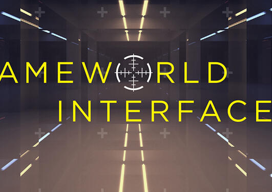 Gameworld Interfaces, illustrasjonsbilde