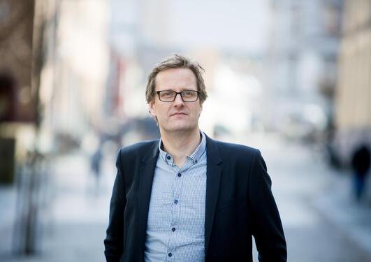 Portrett av Håvard Haarstad