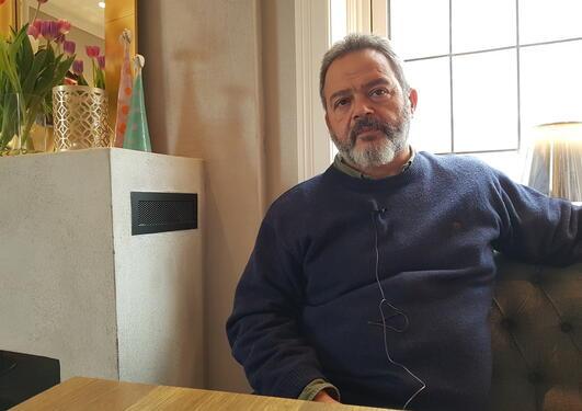 Bilde av personen som intervjues