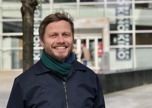 Portrett av Håkon Tveit fra BIFF
