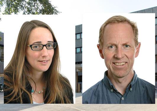 Christine Hamm og Birger Solheim