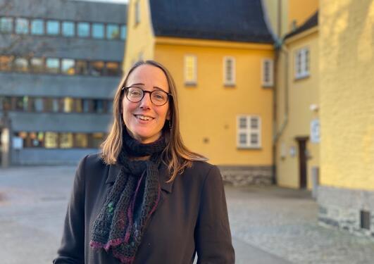 Christine Hamm, professor i Nordisk