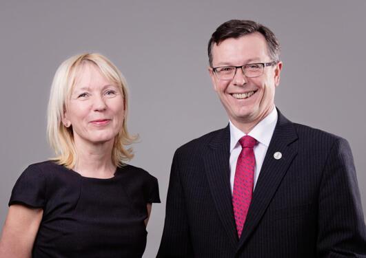 Bilde av Margareth Hagen og Dag Rune Olsen