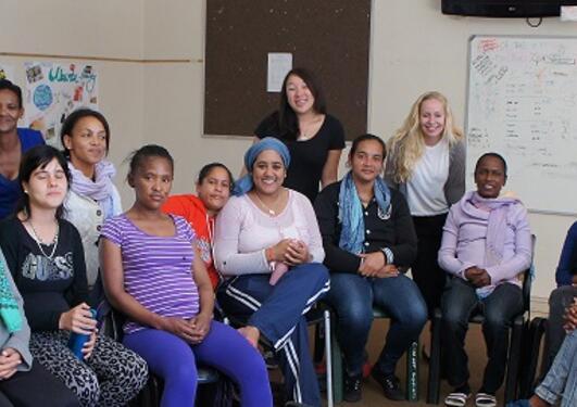 Psykologstudenter i Sør-Afrika