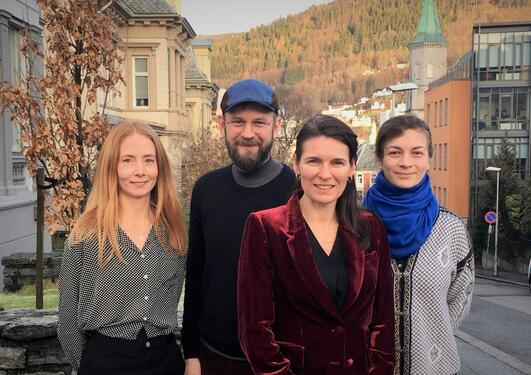 Bilde av Hege Stein Helland, Audun Løvlie, Marit Skivenes og Barbara Ruiken.