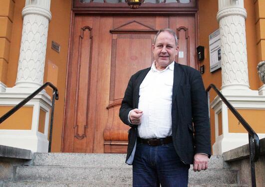 - Jeg er genuint glad i museet og samfunnsoppdraget vi har, og det må man være for å holde på med noe slikt, sier Henrik Von Archen, fagdirektør ved Universitetsmuseet i Bergen.