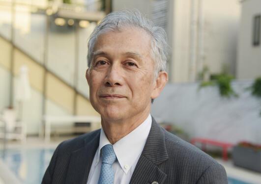Hiroshi Matsumoto is leaving his job as UiB´s man in Tokyo.