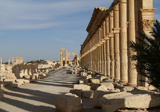 Bilde av antikk ruin