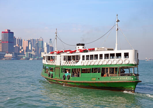 Hong Kong riverboat