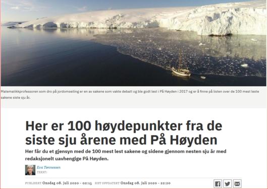100 høydepunkter fra På Høyden