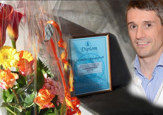 Kristoffer Haugarvoll fekk Falchs juniorpris 2015