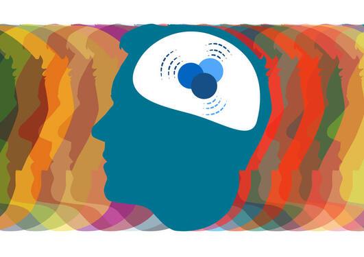 Illustrasjon til sak om hjerneforsker Kenneth Hugdahl og hans revolusjonerende arbeid for å hjelpe pasienter med schizofreni.