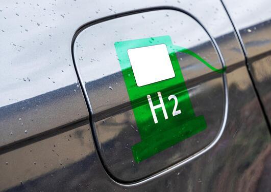 Bilde av en hydrogentank