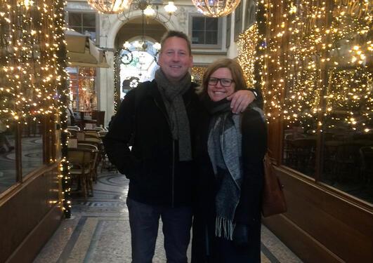 Prisvinnerne Knut og Annelin