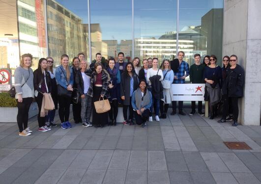 Kull 14 besøker Lundbeck i København