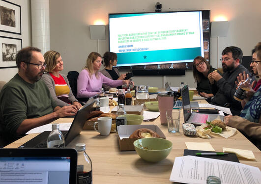 Meeting at Iver/UiB
