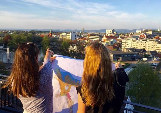 Studerer Stavanger by