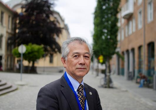 BUILDING BRIDGES: Hiroshi Matsumoto works to deepen relationships between Norwegian and Japanese partners and expertise in education and research sector and the business sector in the country.