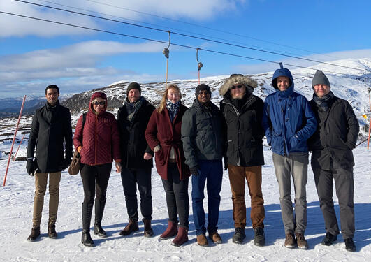 Project group at Voss, Vestland, Norway