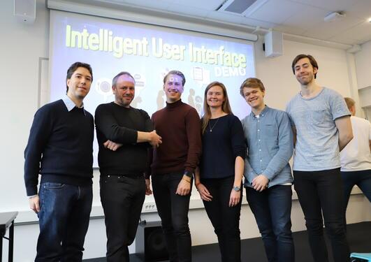 Edvard Sørbø, Lars Nyre, Petter Omdal, Linn, Mats Åsbu Jacobsen og Rikard Gjengstø Stormo