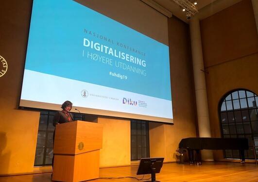 Nasjonal konferanse: Digitalisering i høyere utdanning 2020